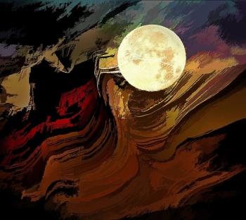 Moonrise in the Canyon of Memory II.jpg