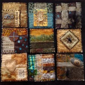 Web mini quilt